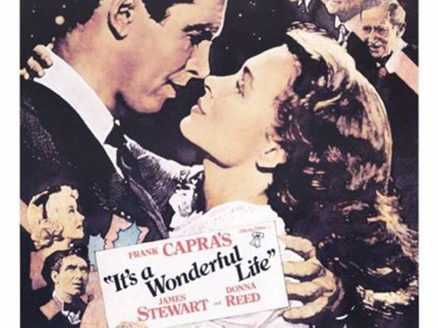 It's a wonderful life movie poster 24 x 36