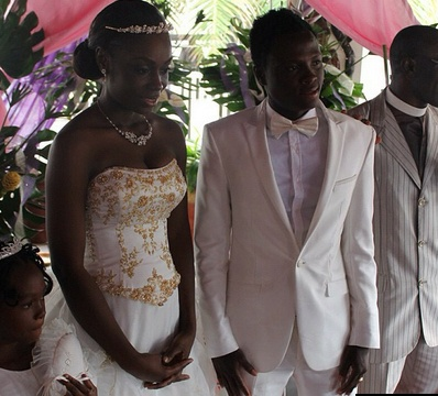 Samuel inkoom wedding