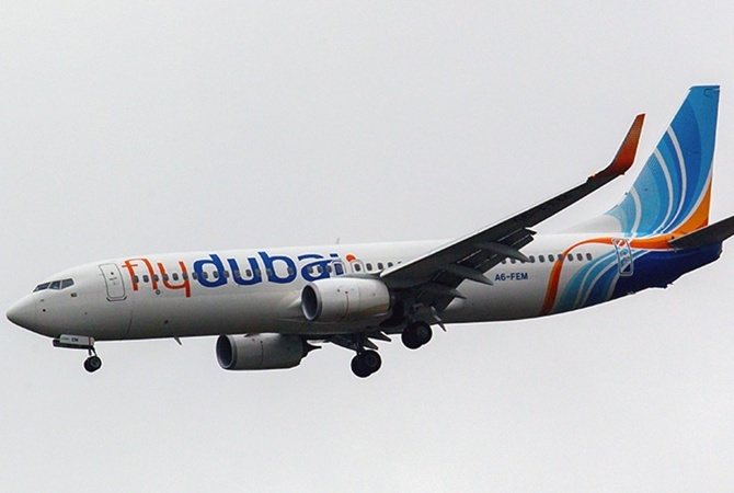 Boeing 737-800 авиакомпании Flydubai. Фото: GLOBAL LOOK PRESS