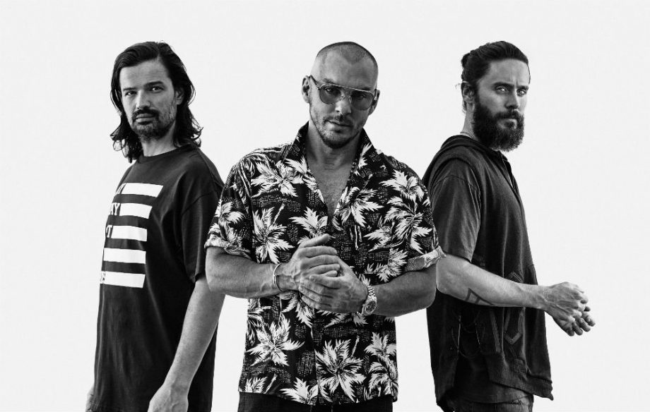 Thirty Seconds To Mars 30 апреля во Дворце Спорта