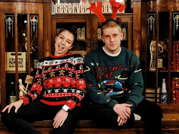 Вечірка Ugly Sweaters party