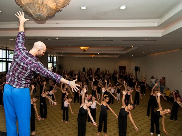 Сертификация от Broadway Dance center (New York) в Харькове