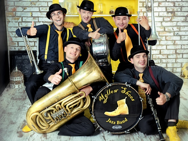 Yellow Shoes Brass Band