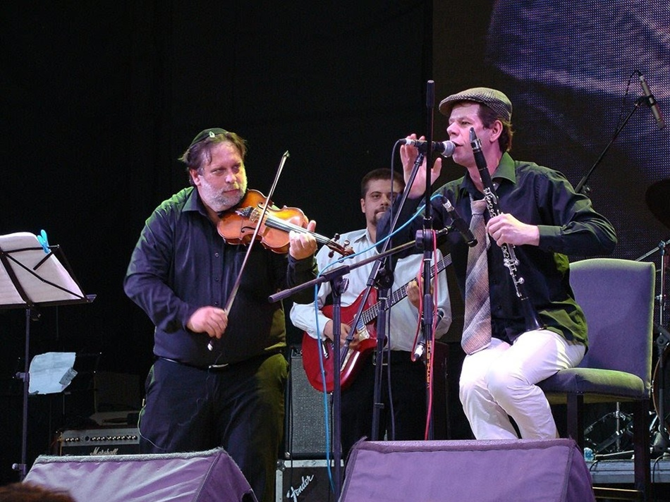Концерт Pushkin Klezmer Band в клубе Sentrum 10 декабря.