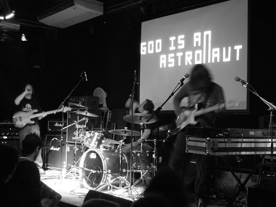 Концерт группы God is an Astronaut 11 апреля в Bel etage