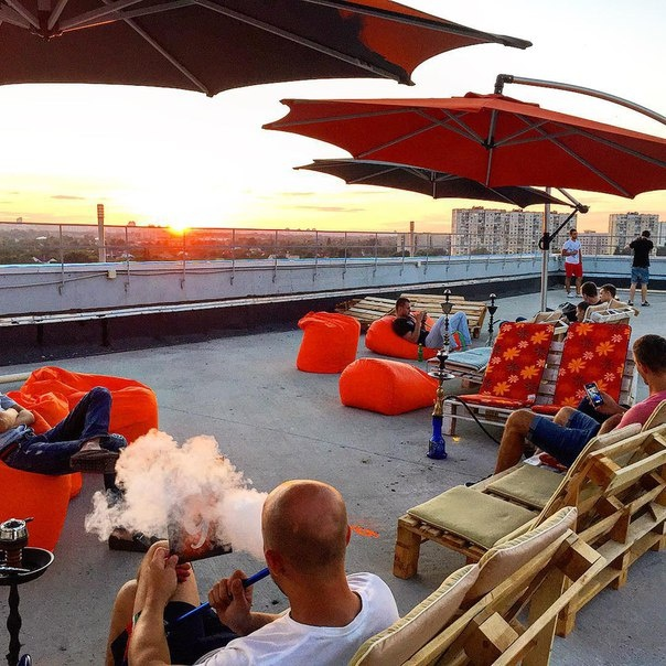 G-Sky - Roof Terrace and Lounge на Радужной, 25а.